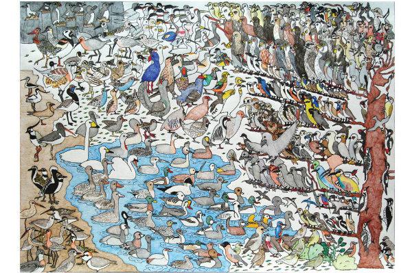 Livro Reúne uma Série de Pinturas Criadas por Autistas 21
