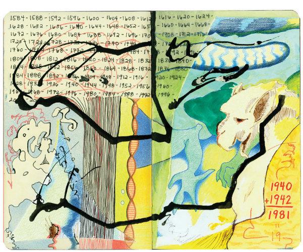 Livro Reúne uma Série de Pinturas Criadas por Autistas 25