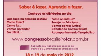 I Congresso Brasileiro de Terapia por Contingências de Reforçamento (TCR) - Campinas/SP 9