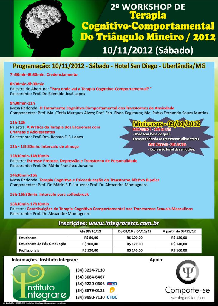 2º Workshop de TCC do Triângulo Mineiro - Uberlândia/MG 5