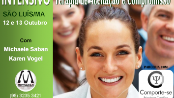 Curso em Terapia de Aceitação e Compromisso - Motivação Consultoria - São Luís/MA 25