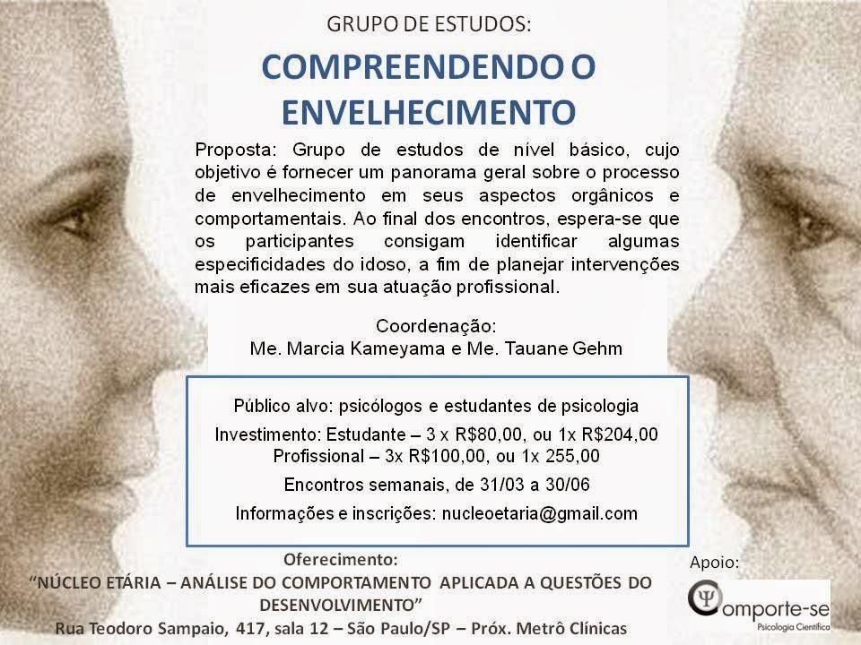 Grupo de Estudos - Compreendendo o Envelhecimento - São Paulo/SP 5