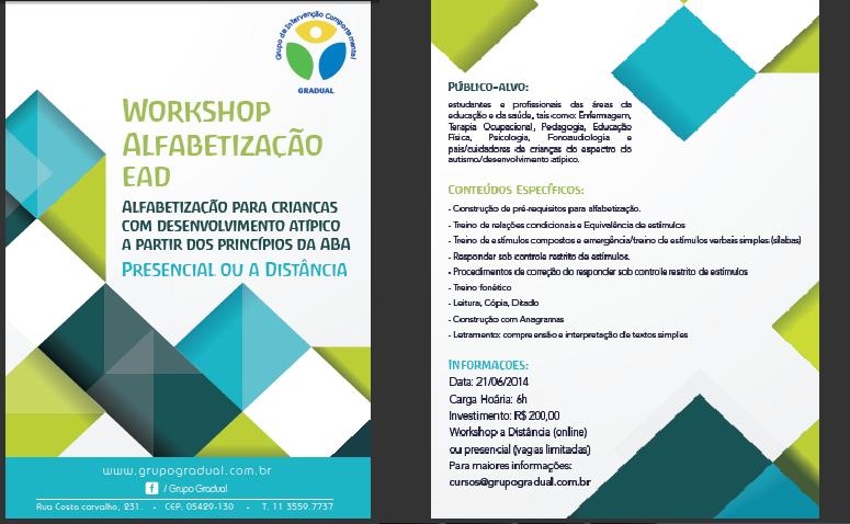 Novos cursos no Grupo Gradual em junho - São Paulo/SP 11