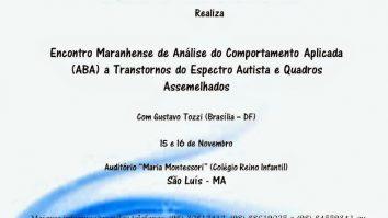 Encontro Maranhense de Análise do Comportamento Aplicada (ABA) - São Luís/MA 25