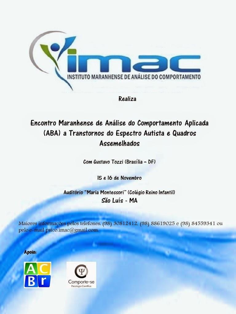 Encontro Maranhense de Análise do Comportamento Aplicada (ABA) - São Luís/MA 5