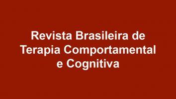 Revista Brasileira de Terapia Comportamental e Cognitiva publica nova edição 3