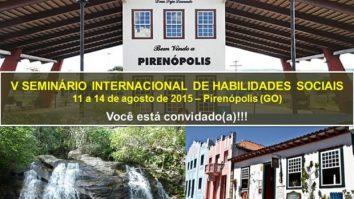 Últimos dias para submissão de trabalhos ao V Seminário Internacional de Habilidades Sociais 13