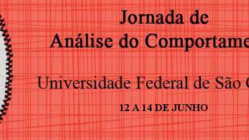 Jornada de Análise do Comportamento da UFSCar 13