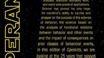 """Revista """"Operants"""" da fundação B. F. Skinner publica edição especial sobre o estado atual da AC 15"""