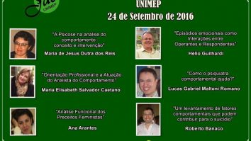 4ª Jornada de Análise do Comportamento da Universidade Metodista de Piracicaba 23