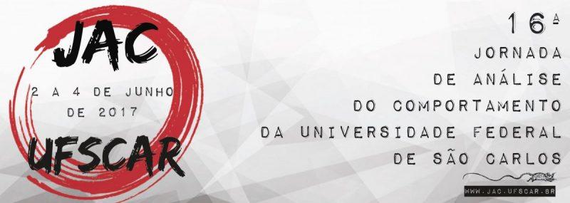 XVI Jornada de Análise do Comportamento da Universidade Federal de São Carlos 5