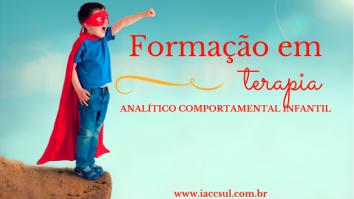 Curso de Formação em Terapia Analítico Comportamental Infantil 13