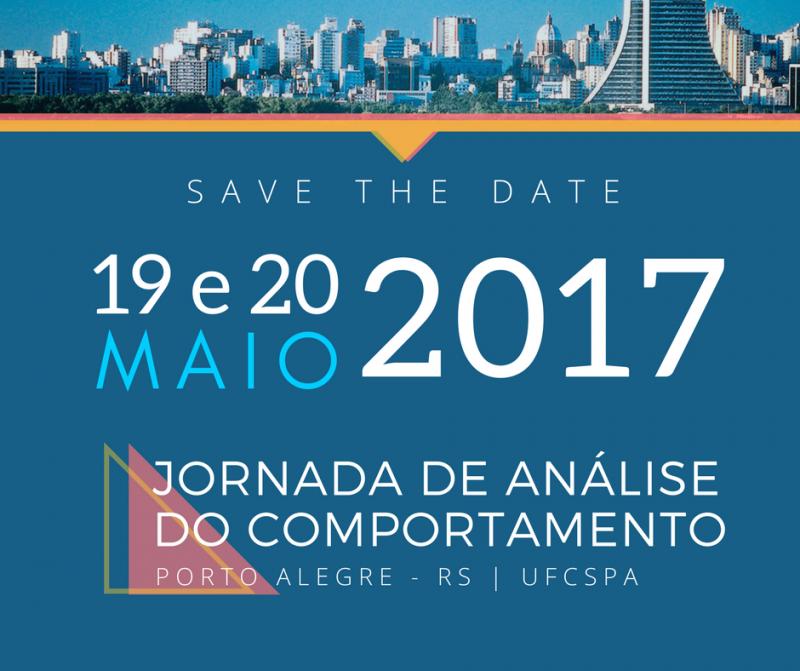 I Jornada de Análise do Comportamento do Rio Grande do Sul 5