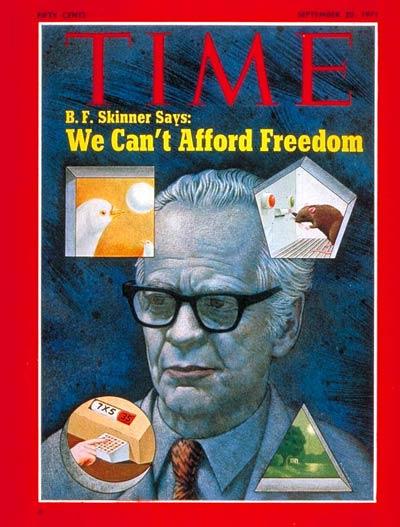 A vida de B.F. Skinner parte XI: Para Além da Liberdade e Dignidade 1