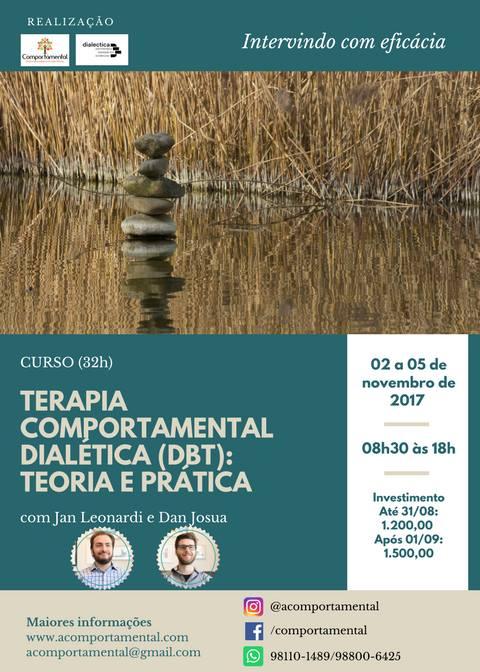 A cidade de Belém (Pará) receberá o curso DBT: Teoria e Prática 5