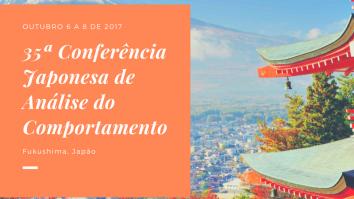 35ª Conferência Japonesa de Análise do Comportamento 15
