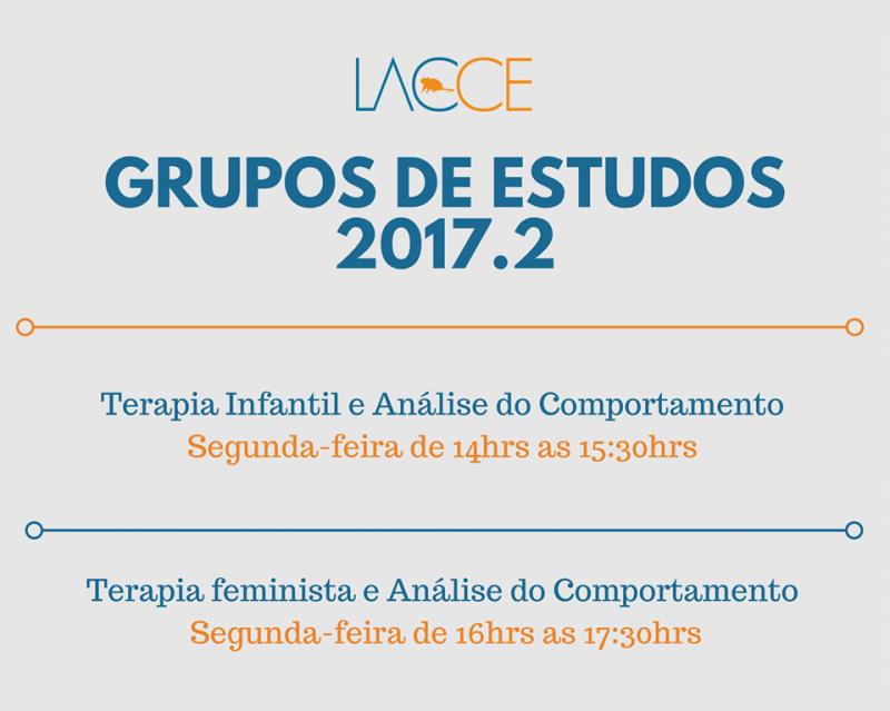 Grupos de Estudos sobre AC e Terapia Feminista/Terapia Infantil em Fortaleza