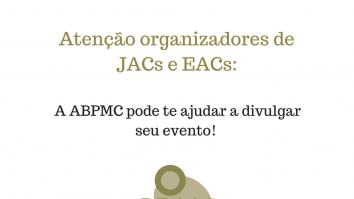 ABPMC ajuda a divulgar o seu evento em Análise do Comportamento 19