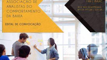 Constituição da Associação de Analistas do Comportamento da Bahia 23