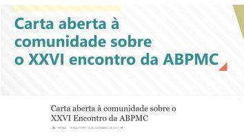 ABPMC publica carta aberta 15