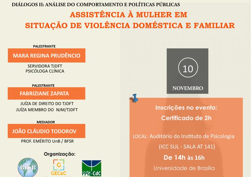 Palestra em AC e Políticas Públicas: Assistência à Mulher em Violência Familiar e Doméstica 5
