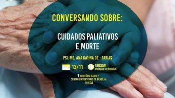 """Palestra ABPMC Comunidade: """"Cuidados paliativos e morte"""" 17"""