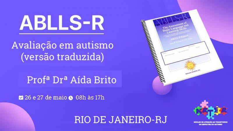 Apresentação do instrumento Ablls-R - Avaliação em Autismo 8