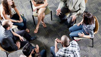 Grupos avançados de habilidades ou grupo de graduandos da DBT 5