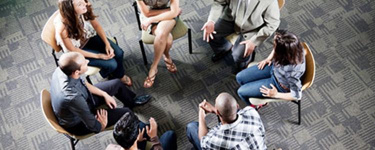 Grupos avançados de habilidades ou grupo de graduandos da DBT 9