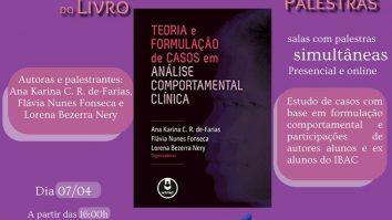 """Ciclo de palestras e lançamento do livro """"Teoria e Formulação de casos em Análise Comportamental Clínica"""" 29"""