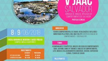 V Jornada de Análise Aplicada do Comportamento de Salvador- Práticas Clínicas 19