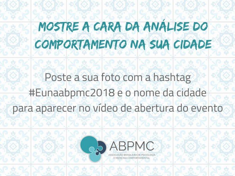 Participe do Vídeo de Abertura ABPMC! 5