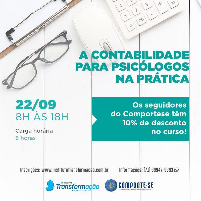 Curso: A Contabilidade para psicólogos na prática 9