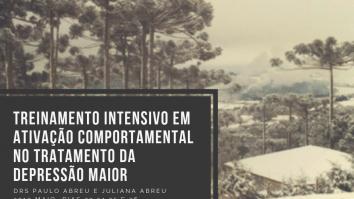 Curso: Treinamento Intensivo em Ativação Comportamental (BA) no Tratamento da Depressão Maior - Curitiba 19