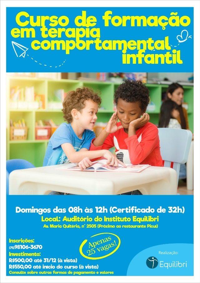 Curso: Formação em Terapia Comportamental Infantil 1