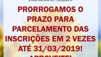 Inscrições do VII Congresso Brasileiro de Terapia por Contingência de Reforçamento (TCR) e Encontro de Terapeutas Comportamentais 7