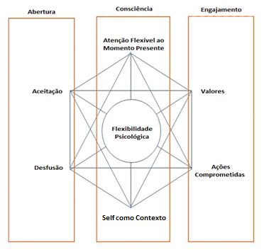 """O que seria esse tal de """"Hexaflex""""? Entendendo o conceito de Flexibilidade Psicológica em ACT."""
