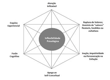 """O que seria esse tal de """"Hexaflex""""? Entendendo o conceito de Flexibilidade Psicológica em ACT. 1"""