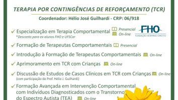 Matrículas Abertas para Cursos em Terapia por Contingências de Reforçamento (TCR) 11