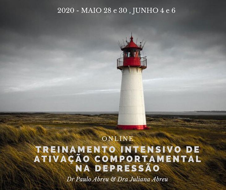 """Curso: """"Treinamento Intensivo de Ativação Comportamental (BA) na Depressão - ONLINE"""" 14"""