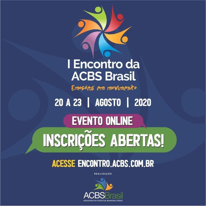 I Encontro da ACBS BRASIL