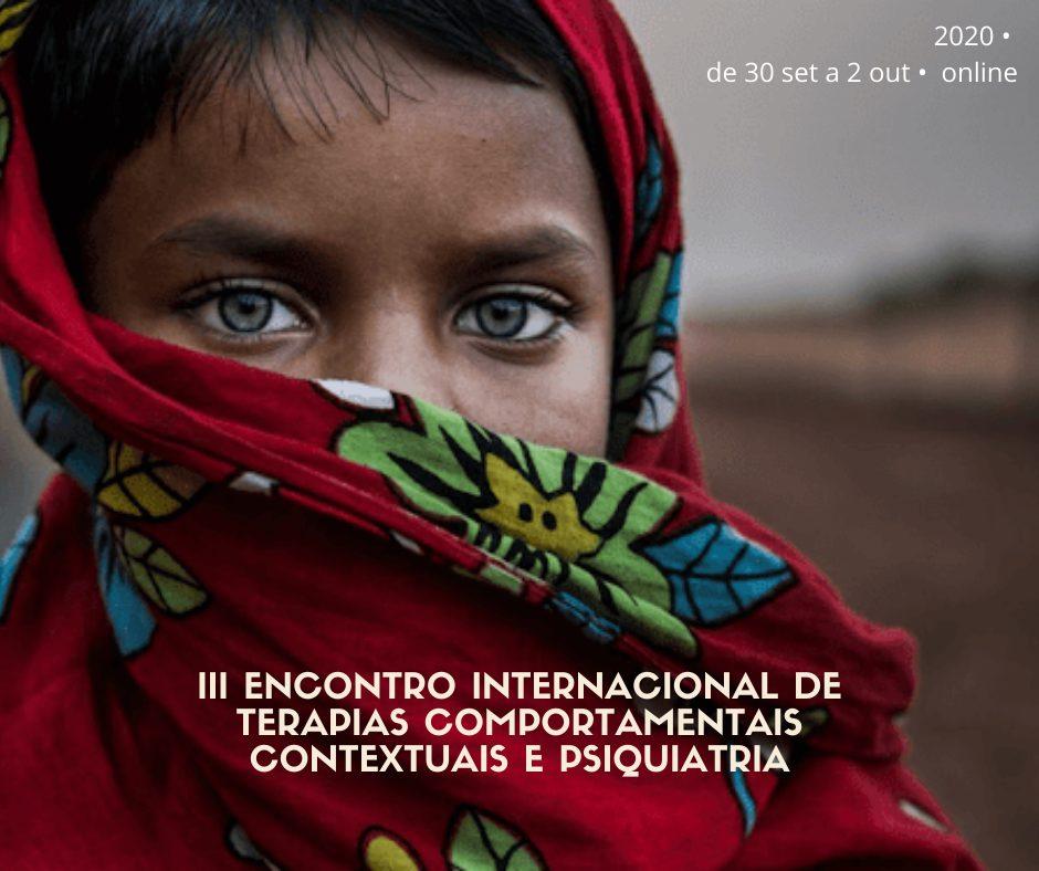 III Encontro Internacional de Terapias Comportamentais Contextuais e Psiquiatria 1