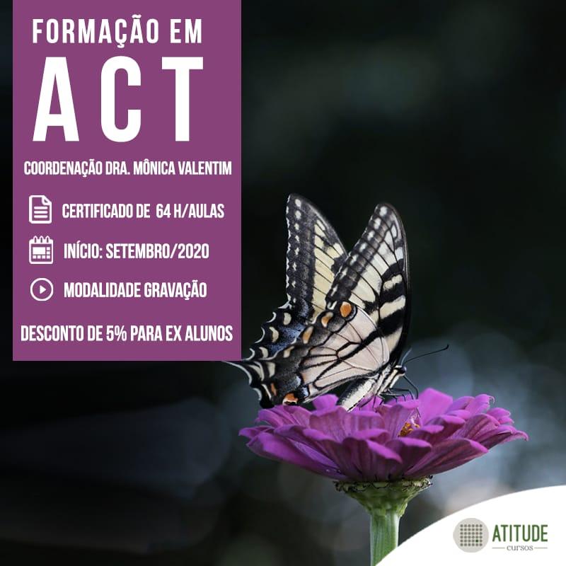 Formação em Terapia de Aceitação e Compromisso(ACT) GRAVADO - Atitude Cursos 1