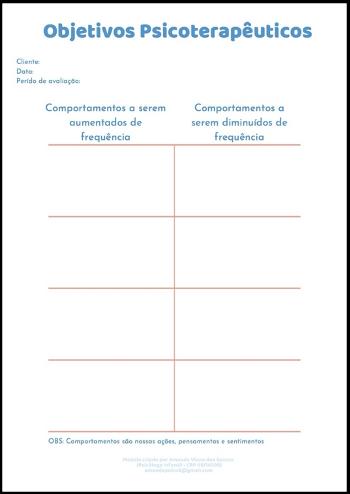Parte 3 - Possíveis Modelos de Registro Comportamental na Terapia Analítico Comportamental Infantil 1