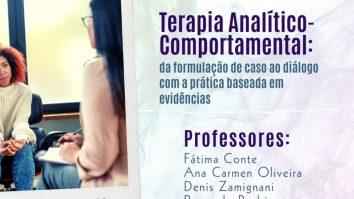 ABPMC em Curso: Terapia Analítico-Comportamental: da formulação de caso ao diálogo com a prática baseada em evidências 3