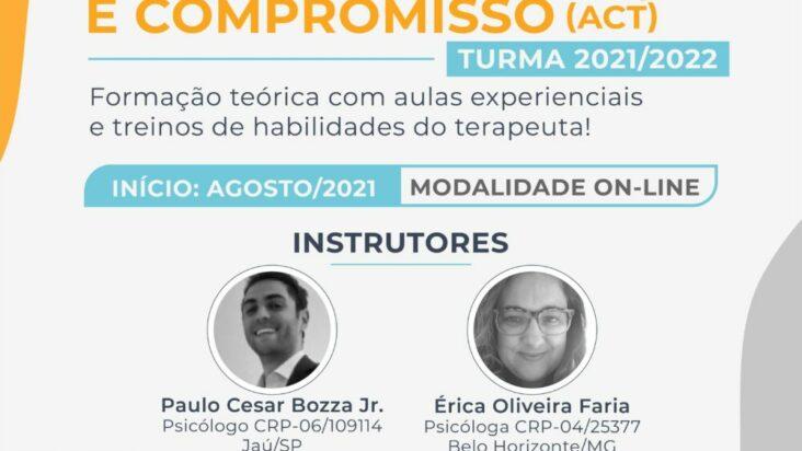 Formação em Terapia de Aceitação e Compromisso (ACT) – Turma 2021/2022 49