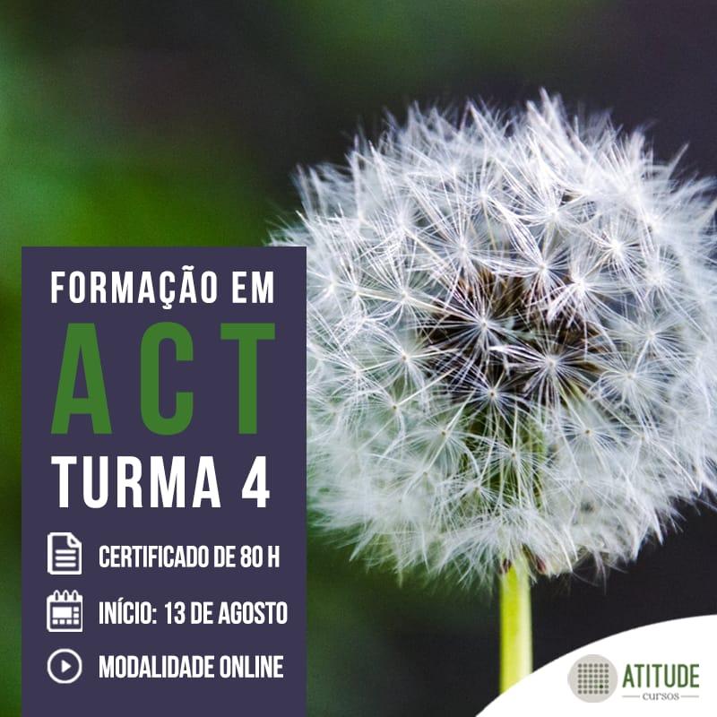 Formação em Terapia de Aceitação e Compromisso (ACT) - Atitude Cursos 1